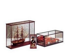 PICTOR - vitrine en bois pour maquette ou autres