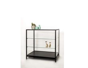 MERES - vitrine type comptoir en aluminium