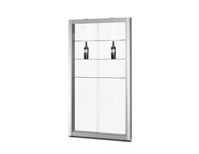 PIKOK - vitrine en aluminium