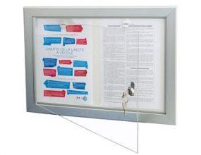 PYXIS ECO100 - vitrine d'affichage pour Intérieur